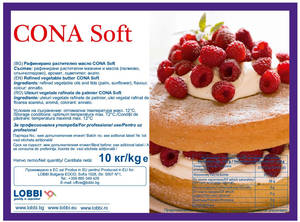 CONA Soft 99.99% Fat blend of vegetable palm fats and sunflower oil