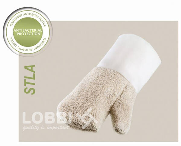 Antibacterial heat-resistant gloves for bakers and confectioner