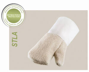 Antibacterial heat-resistant gloves for bakers and confectioners Baking Gloves STLA - S