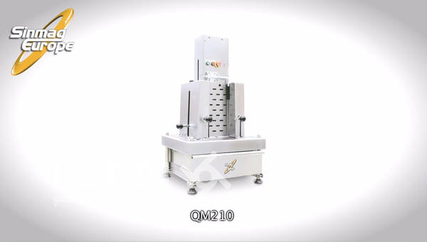 Sinmag QM210 - Chocolate flaking machine in stainless steel
