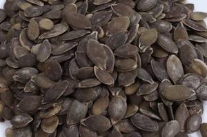 Of hulled pumpkin nuts - whole